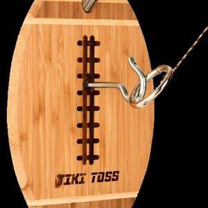 BRAND-NEW Deluxe Tiki Toss Football Edition